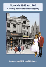 Norwich in the 1950s book cover
