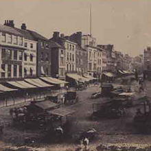 Early Norfolk Photographs image of market